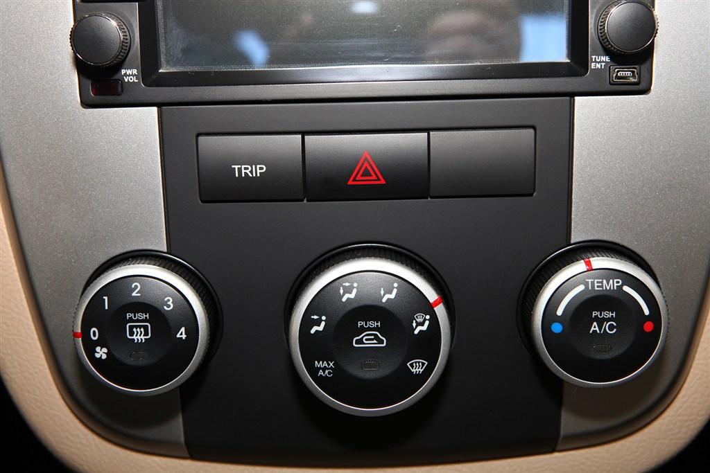 赛拉图中控台空调控制键