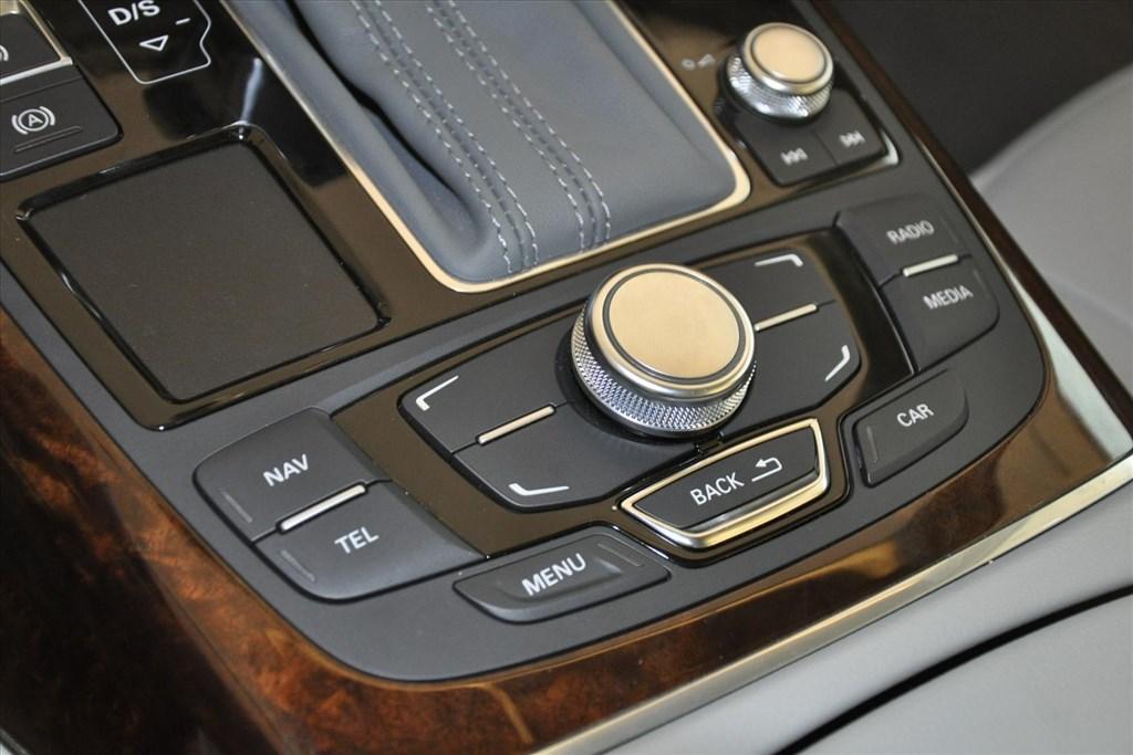 奥迪a6(进口)中控台音响控制键