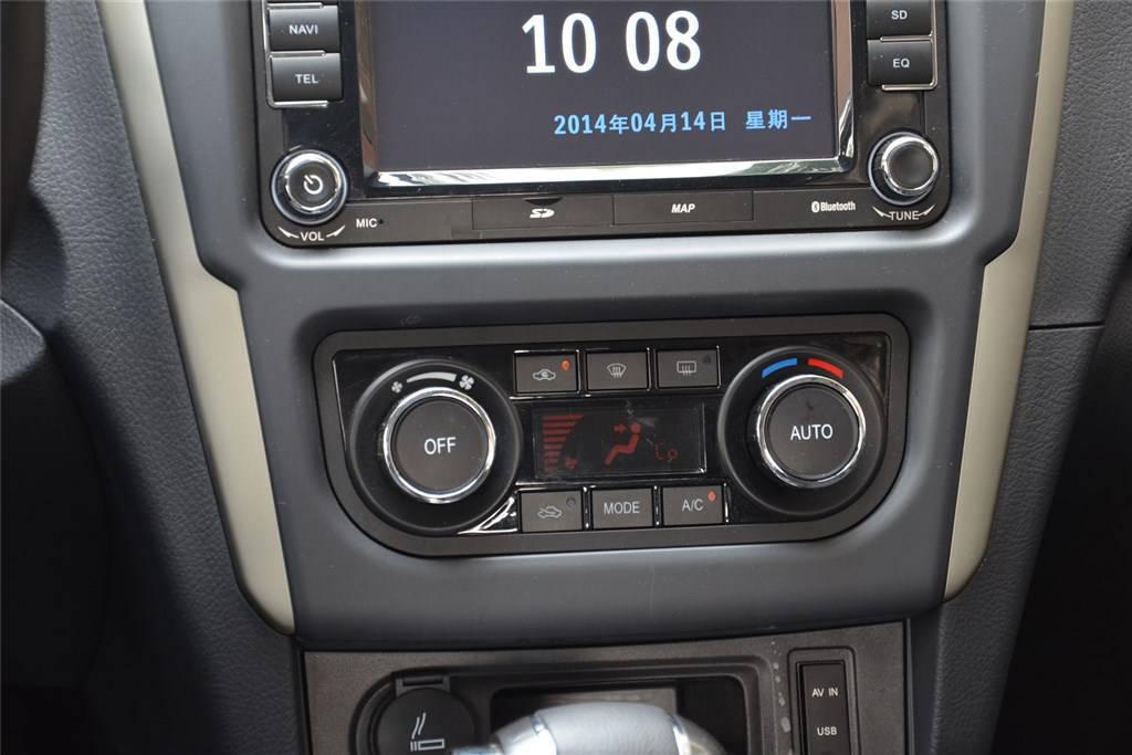 景逸s50中控台空调控制键